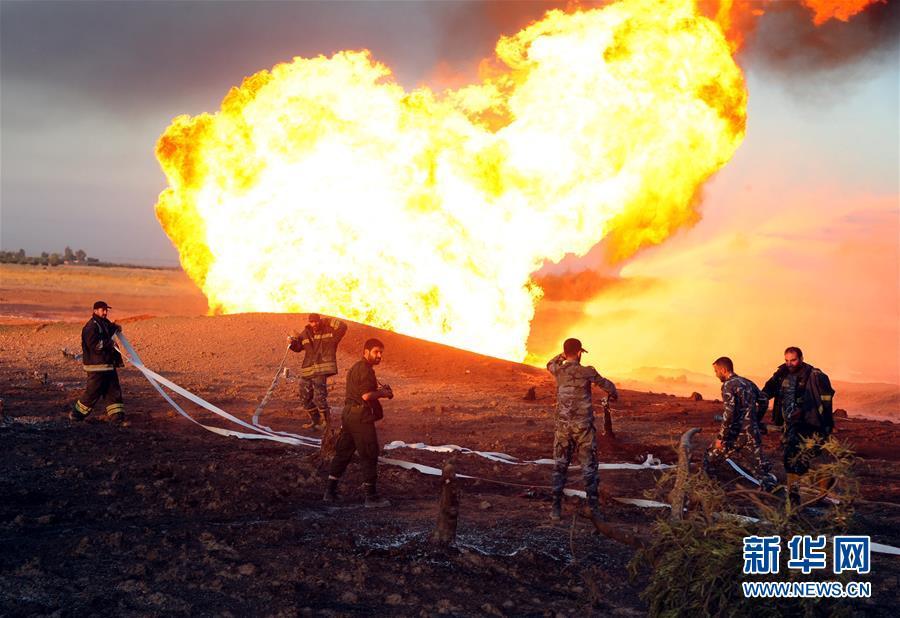 叙利亚一天然气管道爆炸致全国大范围停电