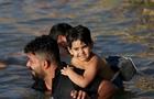 伊拉克兒童的游泳課