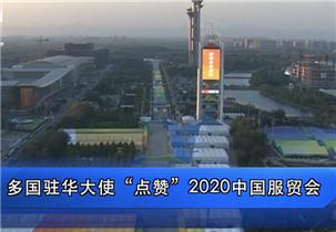 多国驻华大使点赞服贸会:期待深化对华合作
