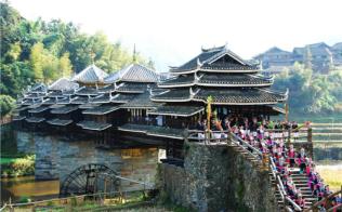 广西三江县发掘文化旅游资源 助力脱贫攻坚