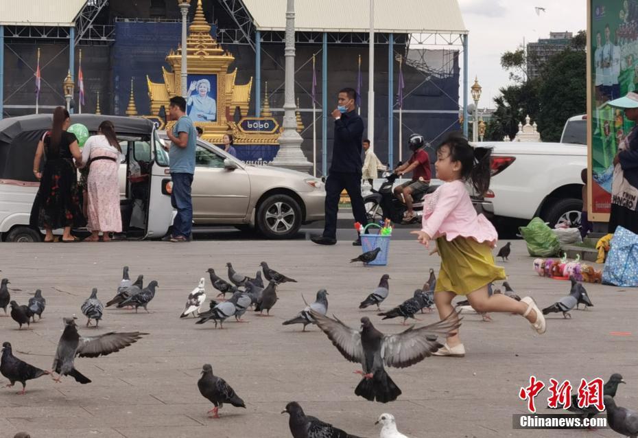 柬埔寨疫情趋于平稳 当地民众重返休闲生活