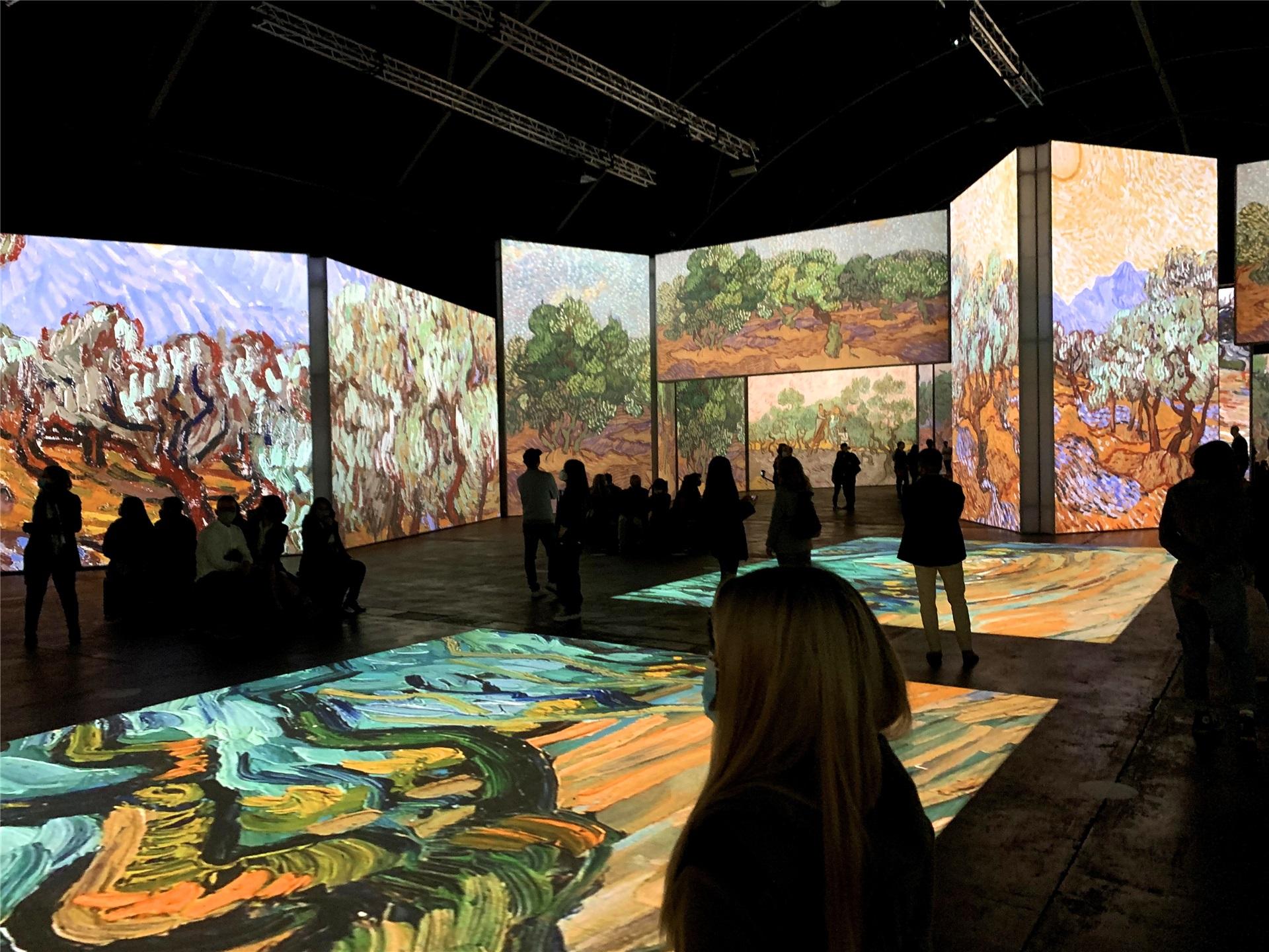 梵高沉浸式画展在悉尼开展 全新视角体验大师画作