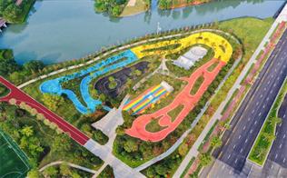 江门首个复合型极限运动场地龙溪湖时尚运动中心建成开放