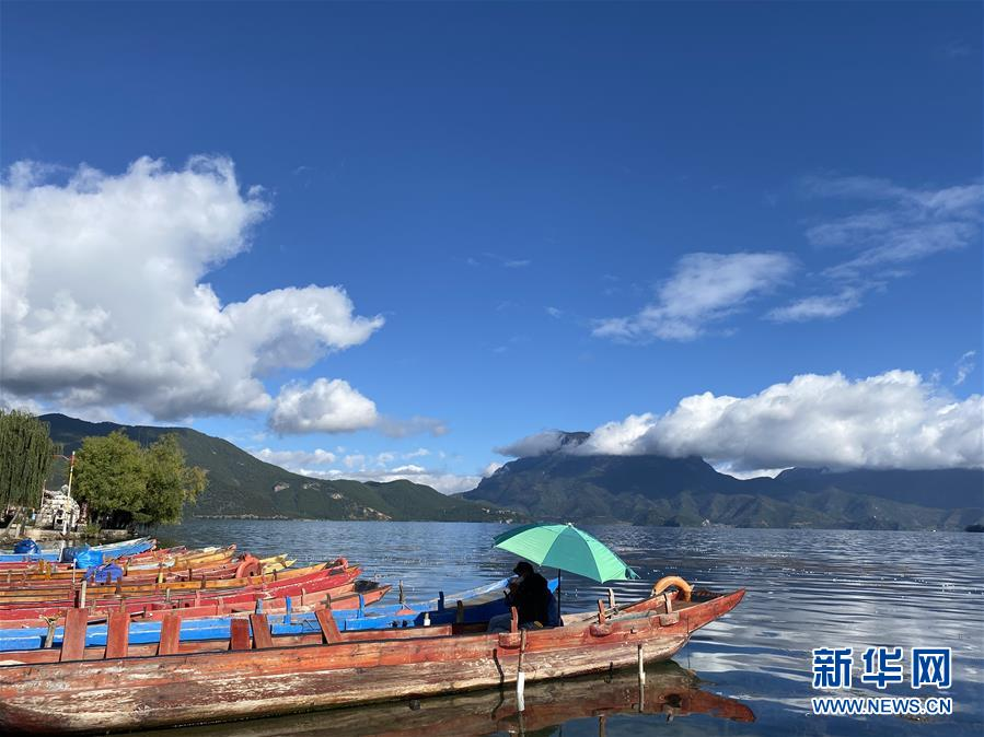 """生态搬迁,""""退一步""""守护泸沽湖清清的水源"""