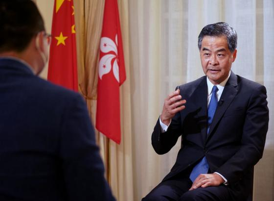 梁振英:克服当下困难,香港未来充满希望