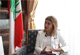 黎巴嫩驻华大使:米莉亚·贾布尔