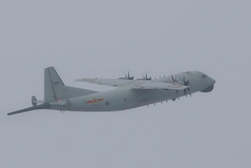 绿媒:解放军军机今早两度进入台西南