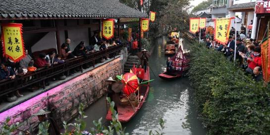 浙江湖州:鱼文化节庆丰收