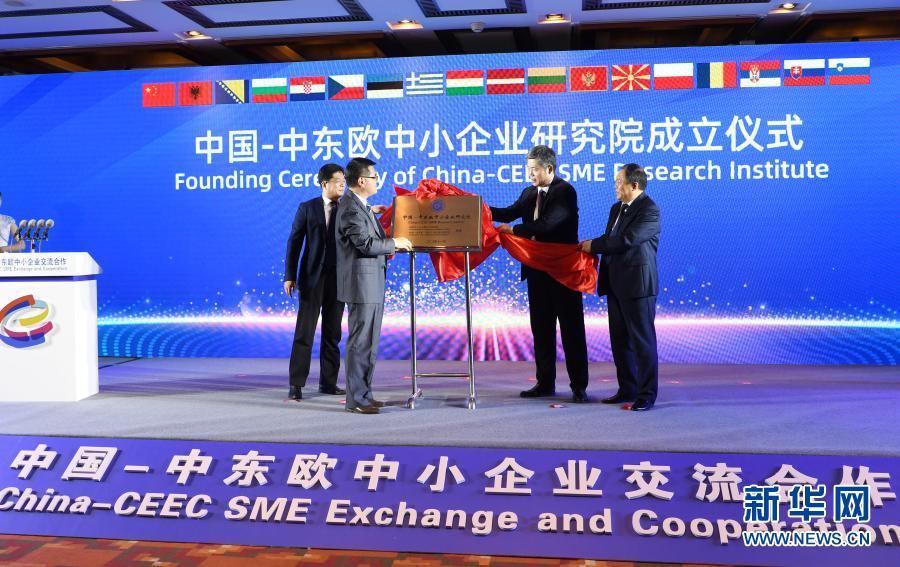 中国-中东欧中小企业线上对洽会举行