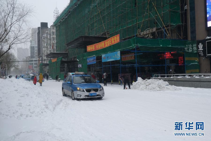 """严寒中的""""北国雪景图"""""""