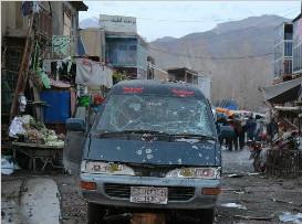 阿富汗发生连环爆炸