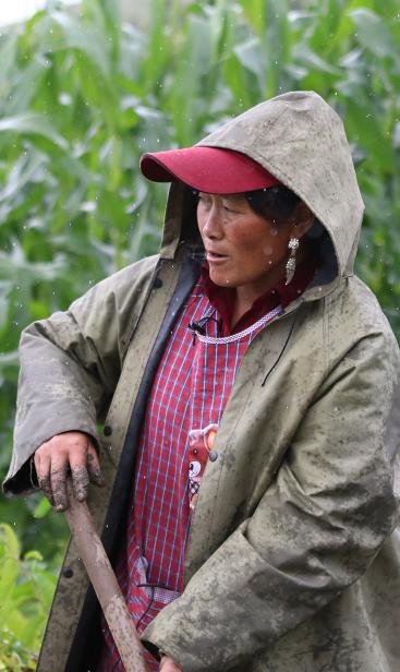 阿坝藏族羌族自治州理县村民黄秀英