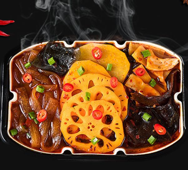 椿林蔬菜小火锅300g+香辣牛肉小火锅400g