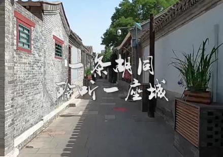 老北京胡同里的垃圾分类