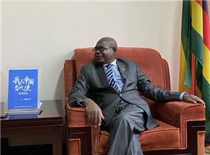 津巴布韦驻华大使:马丁·切东多