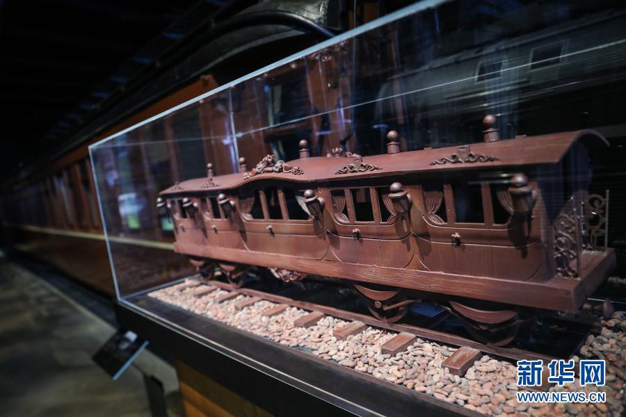 """比利时:当巧克力""""遇见""""火车"""