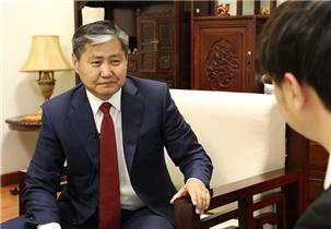 蒙古国驻华大使:图布辛·巴德尔勒