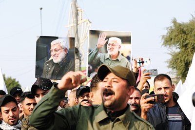 美国伊朗博弈升温 伊拉克沦为角力场