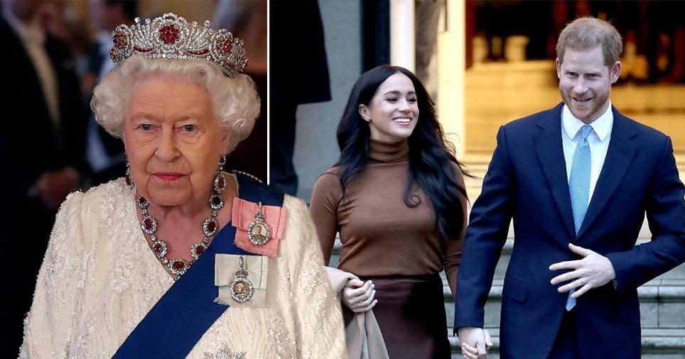 哈里梅根放弃王室身份 王室:不光彩、不公平、不负责任