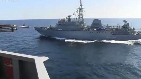 实拍 美俄军舰差点撞上 俄罗斯指责 你挡路了图片 197668 548x309