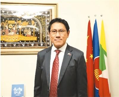 """""""中国电视剧在缅甸大受欢迎!""""(我在中国当大使)"""