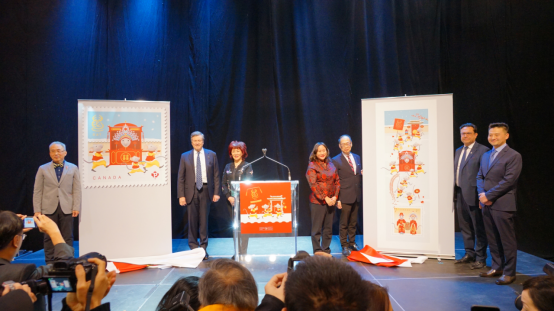 """加拿大等世界各国邮政共庆中国农历鼠年新年 纷纷发行""""鼠票""""181.png"""