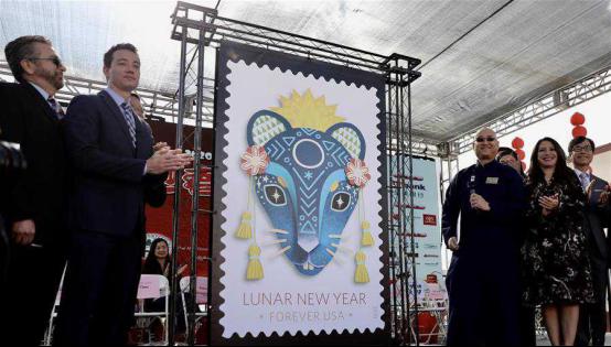 """加拿大等世界各国邮政共庆中国农历鼠年新年 纷纷发行""""鼠票""""430.png"""