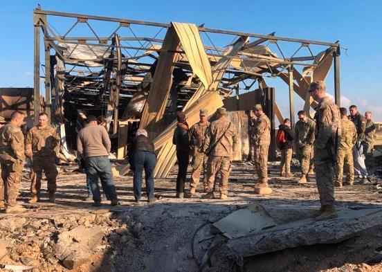 美国官员:伊朗导弹袭击后 更多美军撤出伊拉克以评估伤情