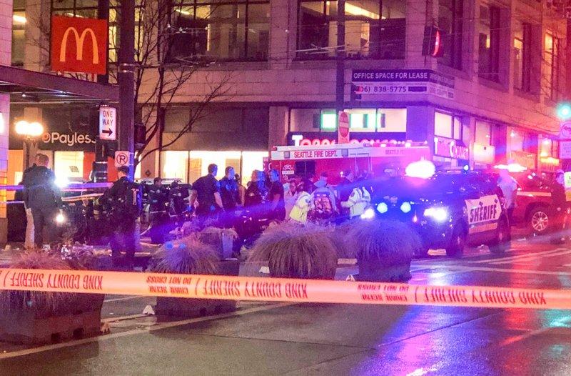 快讯!美国西雅图发生枪击案 致1人死亡5人受伤