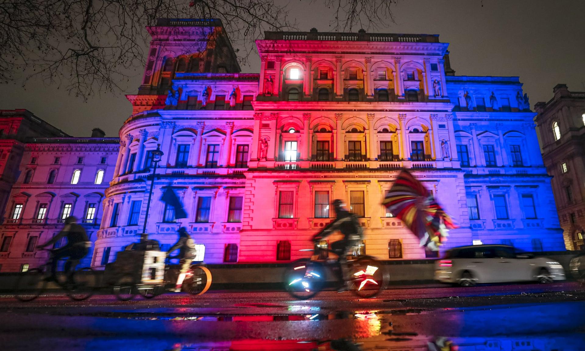 英国外交和联邦事务部(图片来源:《卫报》)