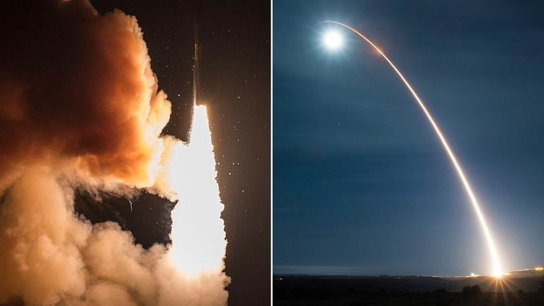 """重启军备竞赛?美国今年首次试射""""民兵-3""""洲际导弹"""
