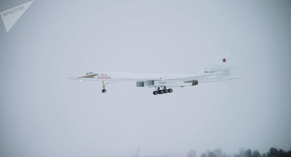 图-160M战略轰炸机(图源:俄卫星通讯社)
