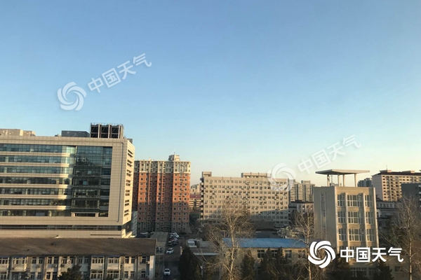 北京今日北風勁吹陣風7級 后天至周末一路向暖