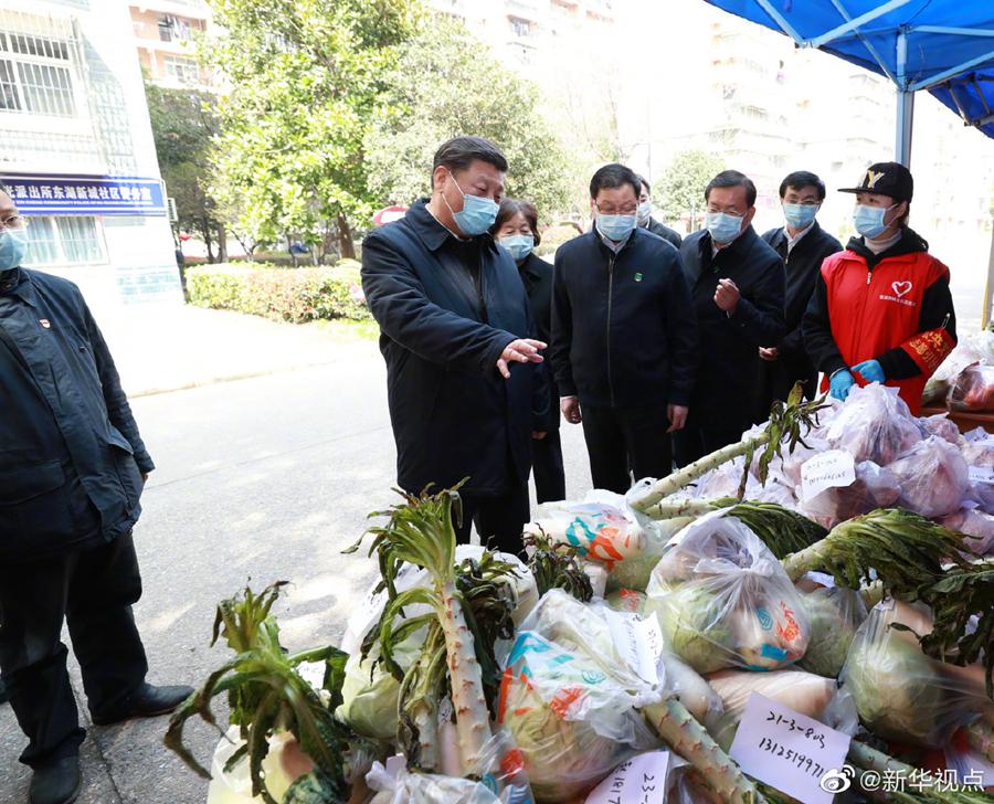 海外网评:英雄的武汉人民,不屈的中国精神