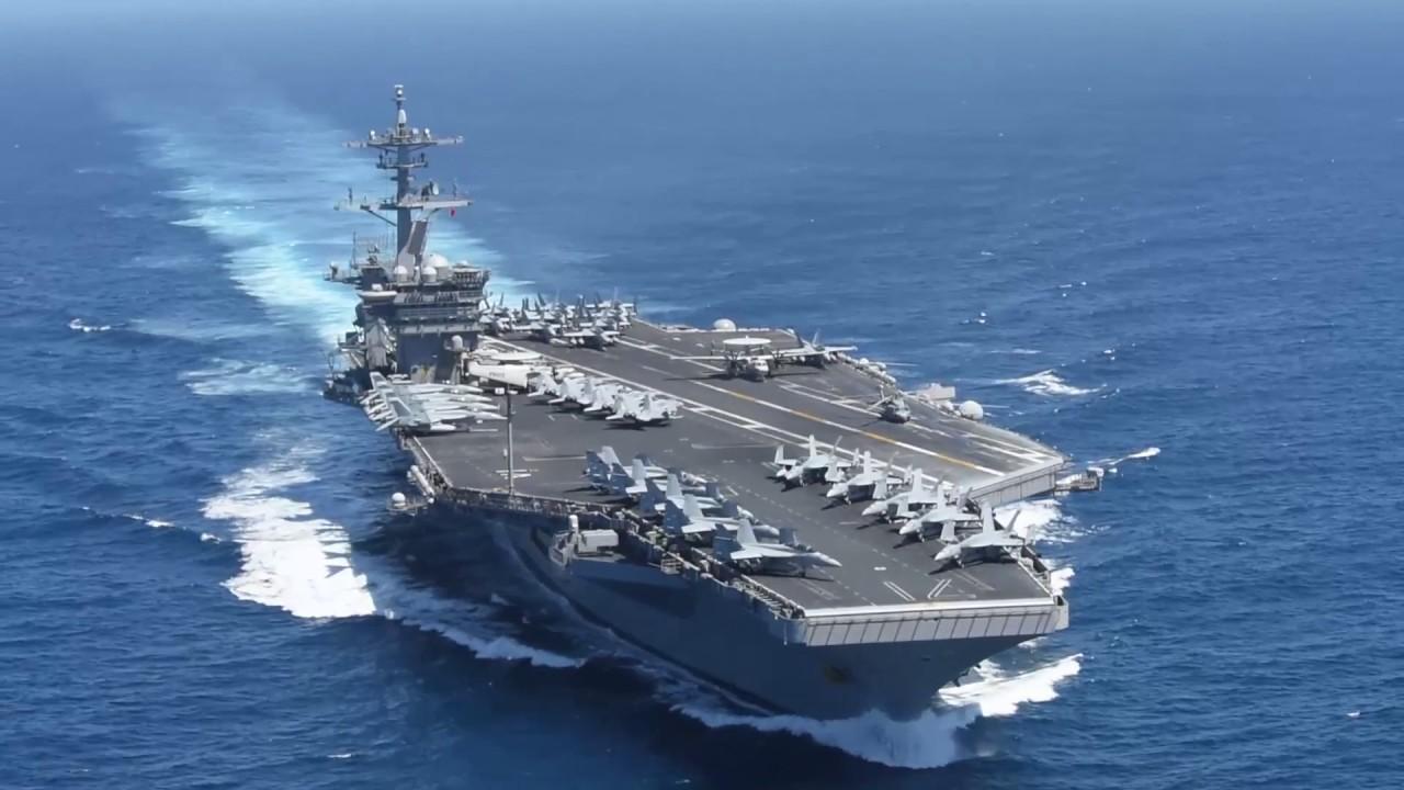 美航母又有5名水手检测呈阳性