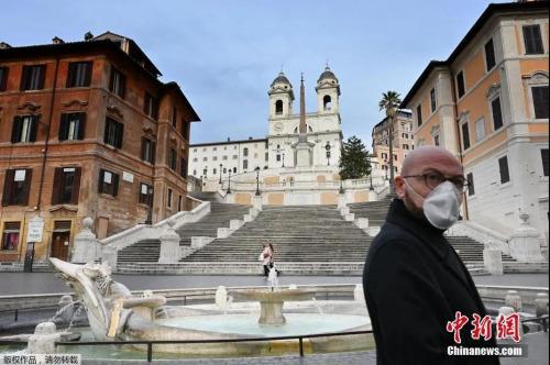 资料图:疫情下的意大利