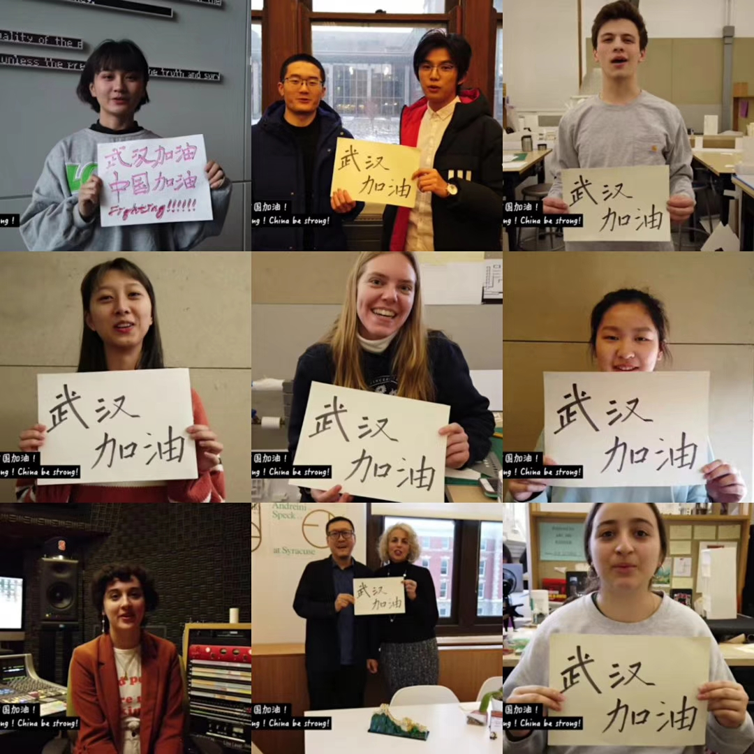 "<b>武汉女孩美国街头""求拥抱"",留学生把这个故</b>"