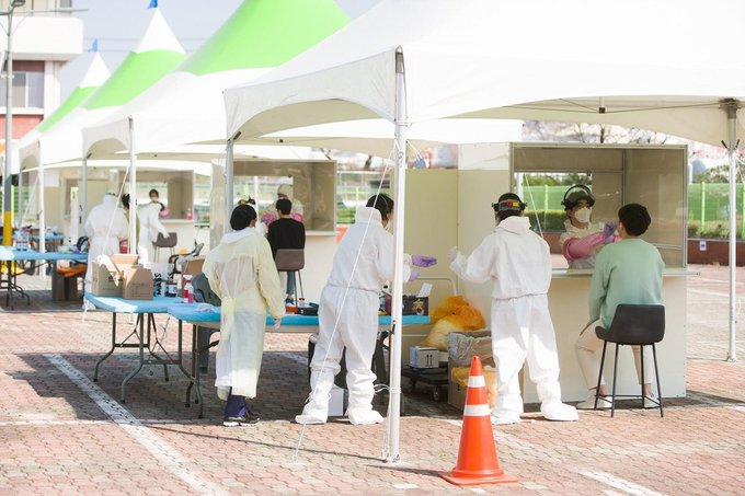 韩国新增确诊病例94例 累计确诊新冠肺炎10156例,死亡177例
