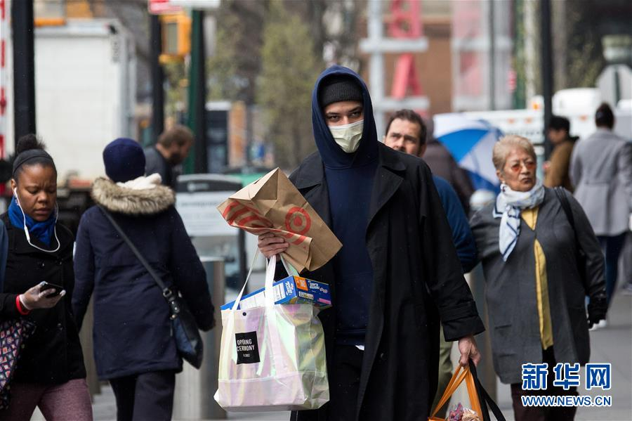 """美国政府建议民众外出戴""""布制面罩"""""""