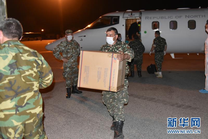 (国际疫情)(1)中国向北马其顿提供抗疫援助物资