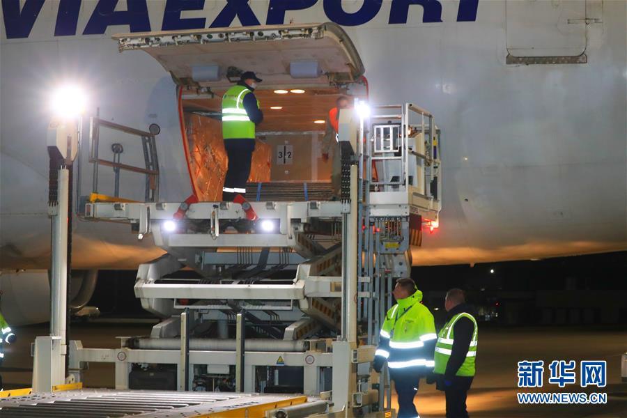 (国际疫情)(1)又一批中国捐赠抗疫物资运抵白俄罗斯