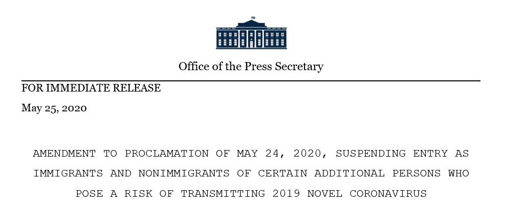 """美国提前两天执行""""巴西旅行禁令"""",26日即开始"""