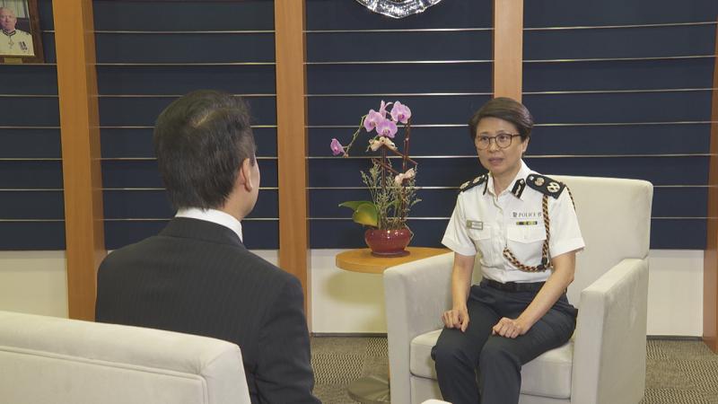 独家专访首任香港警务处国家安全