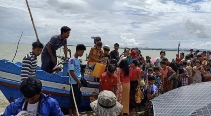 军事资讯_缅甸若开邦军事冲突致3000多人逃离家园 - 资讯 - 海外网