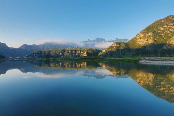 京西百渡休闲度假区的灵魂—拒马河