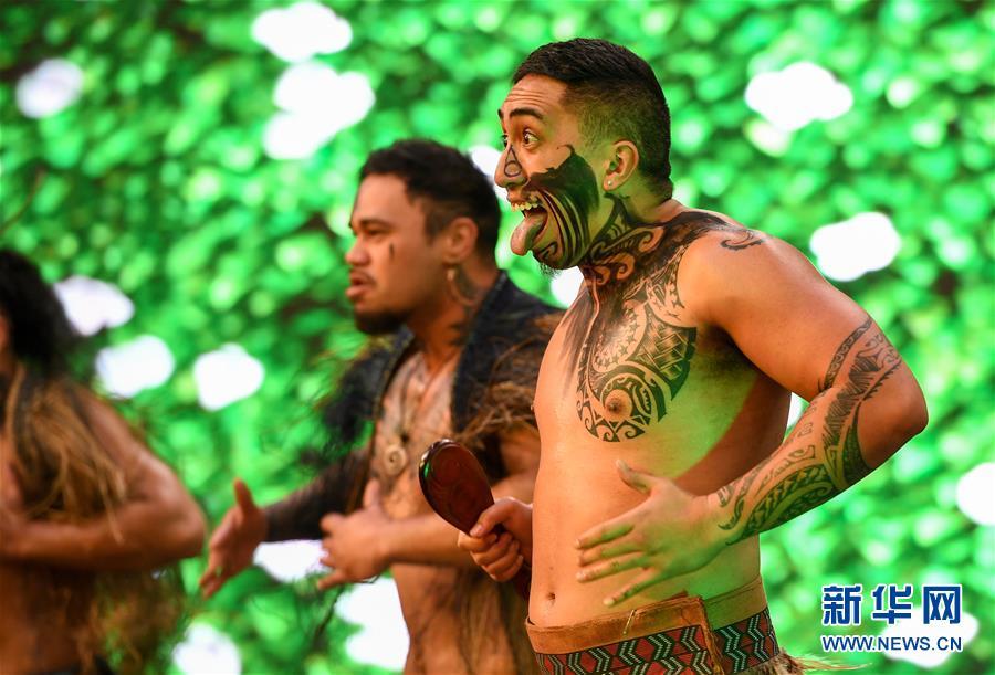 (XHDW)(5)新西兰举办毛利中国多元文化节