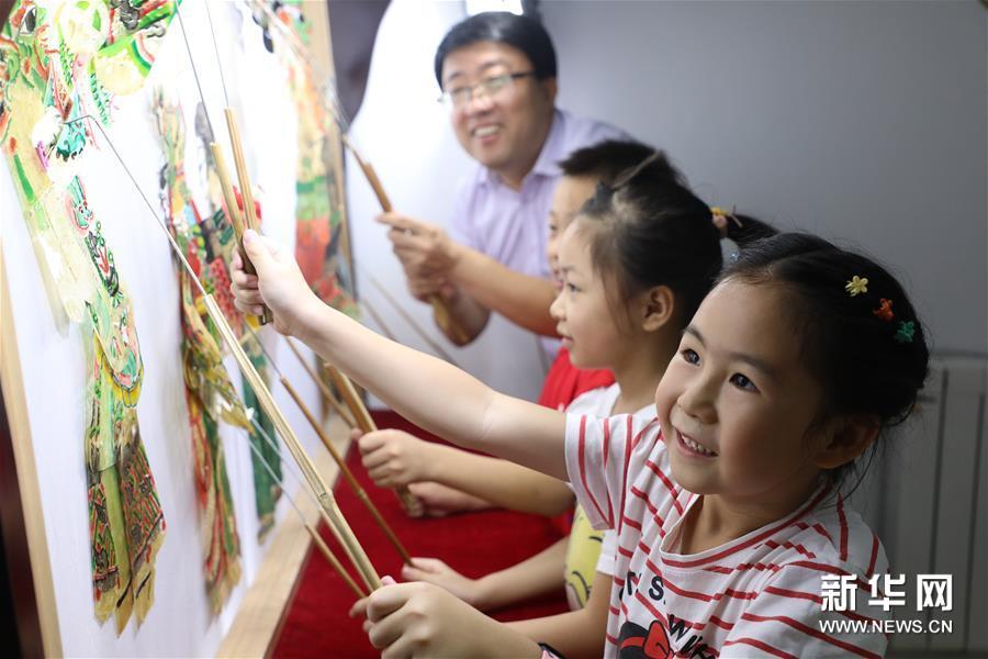 """河北唐山:暑假里的""""非遗""""小课"""