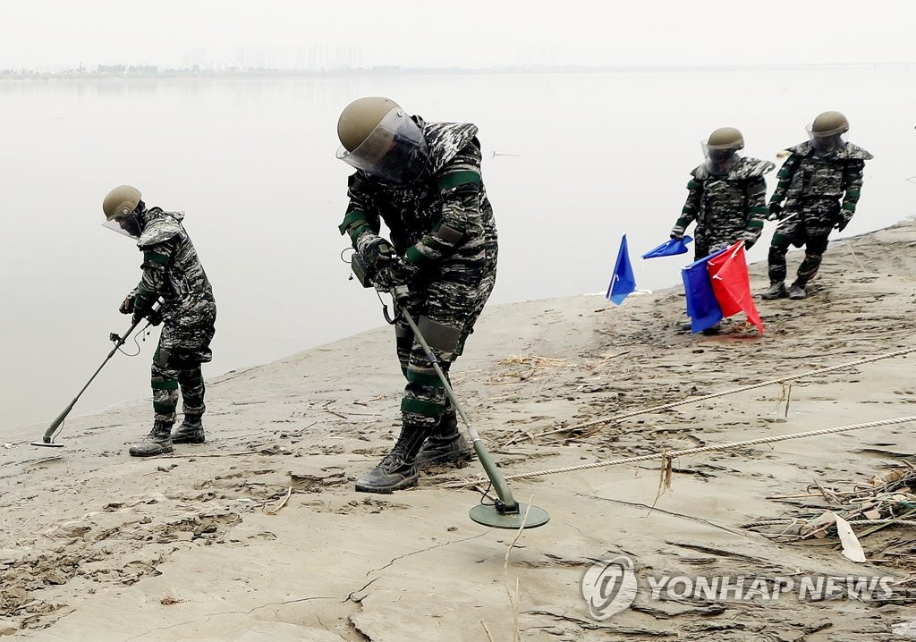 韩国前线部队不明物体爆炸 1名军人受伤 - 原创 - 海外网