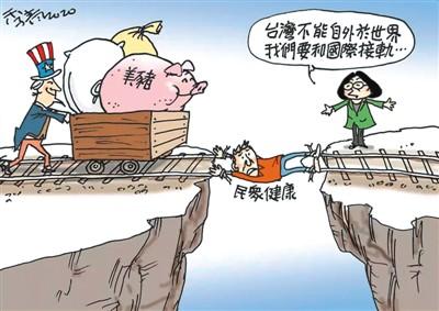 美猪强入,台岛上下乱糟糟 - 原创 - 海外网