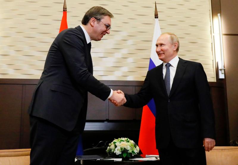 普京就俄罗斯外交部发言人不当言论向武契奇道歉 - 原创 - 海外网